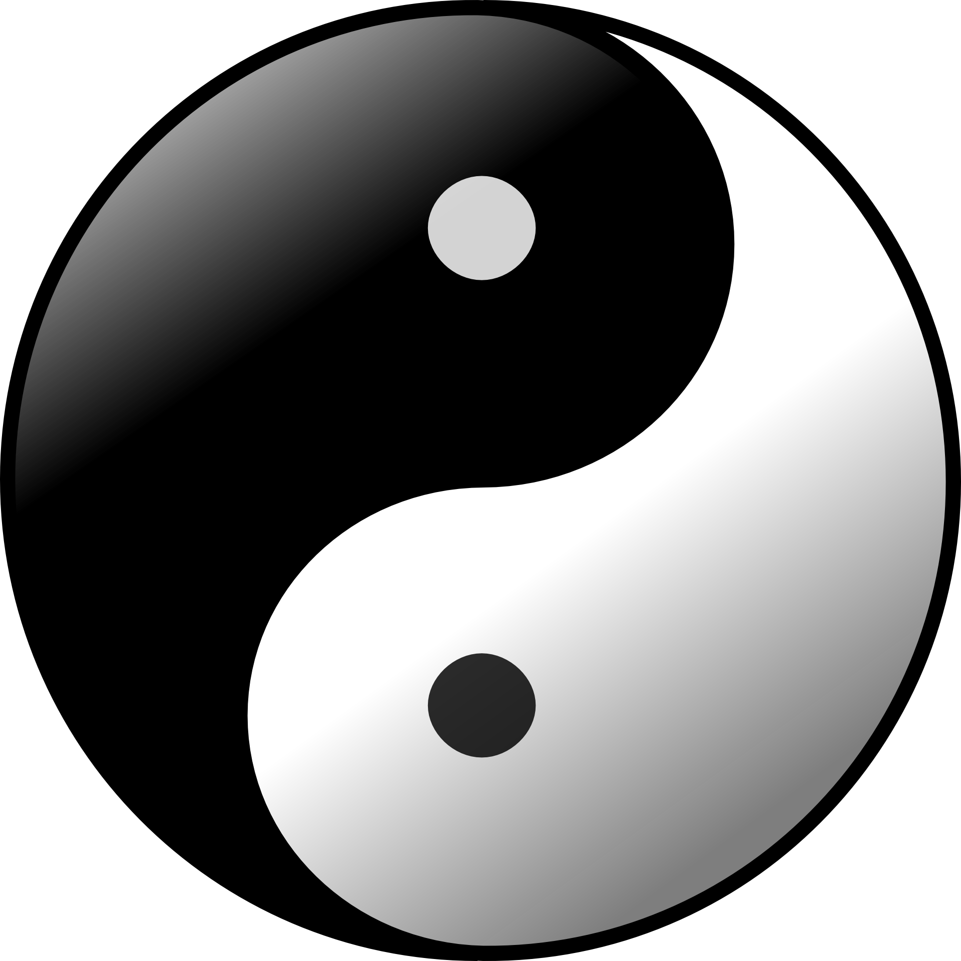 yin yang is universal symbol of shadow work