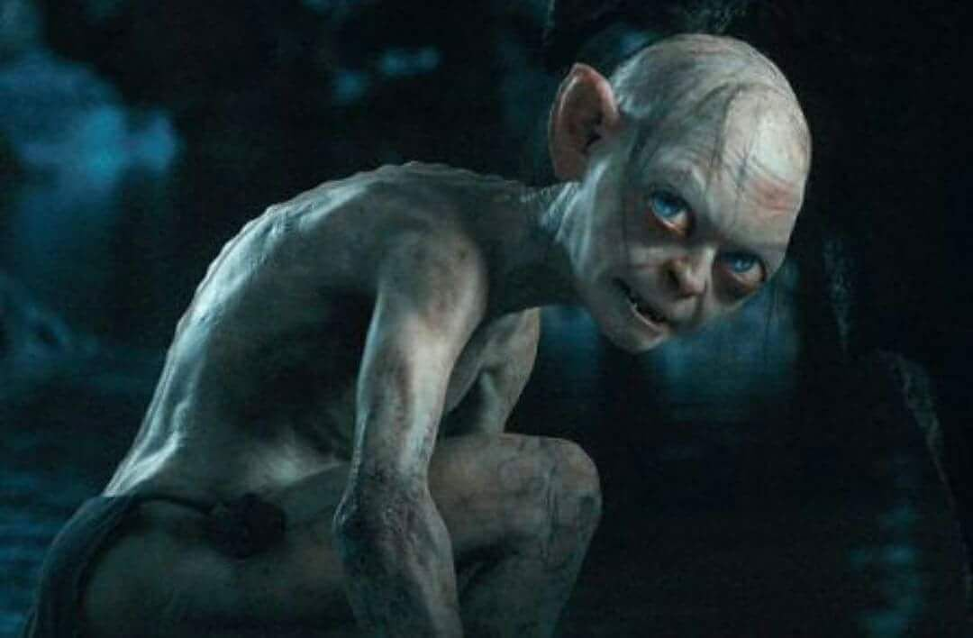 gollum is an excellent example of embodied shadow