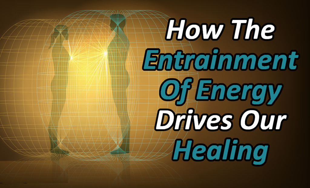 two people experiencing healing and the law of entrainment