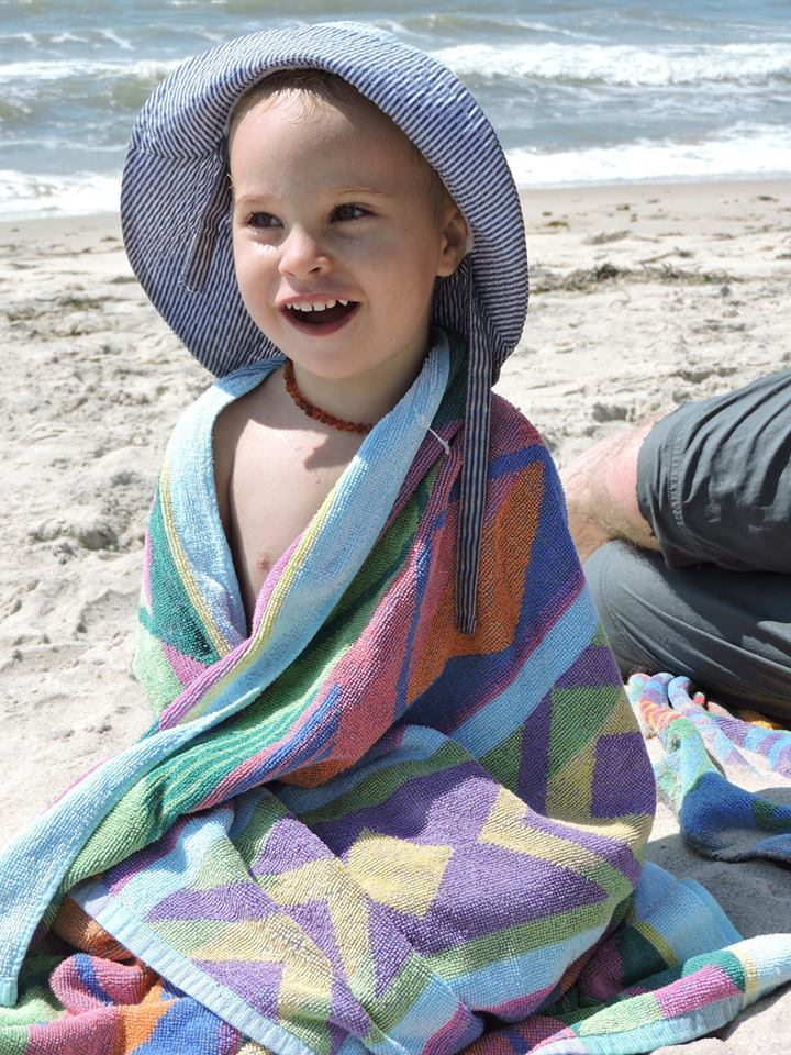 picture of my daughter on the beach every crisis is an opportunity