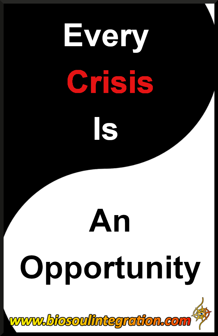 Every Crisis Is An Opportunity Waiting To Happen